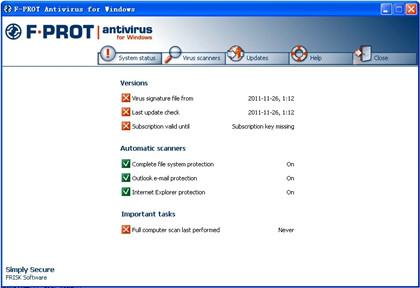 F-Prot Antivirus 6.0.9.6